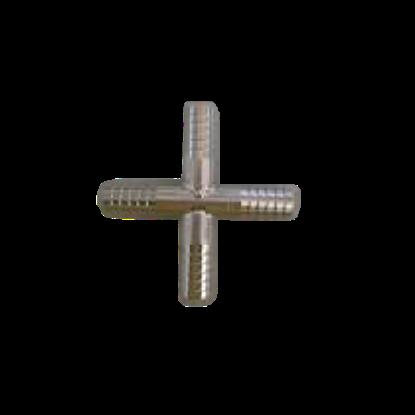 Снимка на Връзка кръст метална 3/8 х3/8 х 3/8 х 3/8