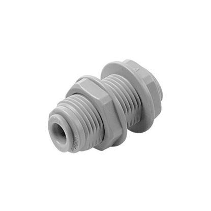Снимка на DMFIT права връзка маркуч-маркуч 3/8 Х 3/8 с резба за фиксиране